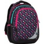 Bagmaster batoh MAXVELL 8 A černá-růžová-zelená