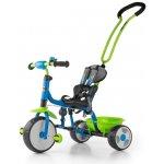 Milly Mally Boby Bike Dětská tříkolka se zvonkem green/blue