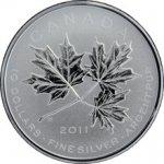 Maple Leaf Stříbrná mince Forever 2011 Standard