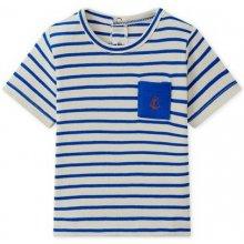 002efae3b587 Chlapecké pruhované tričko s krátkým rukávem (bílá)