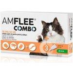 Amflee combo Spot-on kočka fretka 50/60mg sol 10 pipet