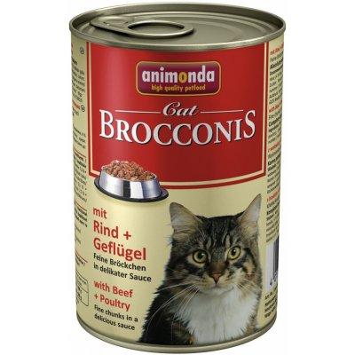 Animonda Cat Brocconis hovězí & drůbeží 400 g