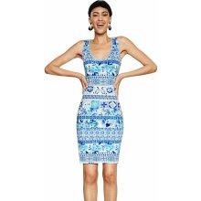 Desigual šaty Luana 18SWVK23 modrobílá b7f500e731