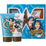 DC Comics Wonder Woman sprchový gel 150 ml + tělové mléko 150 ml dárková sada