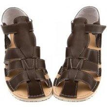 Barefoot dětské sandálky ZEAZOO MARLIN hnědé 693c810643