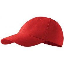Adler Červená baseballová čepice 100 % bavlna 81189 6aae51b9cc