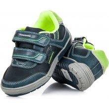 374fca53370 HASBY Sportovní modré dětské boty na suchý zip