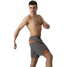 Pánské plavky gWINNER Ben grey/orange
