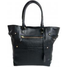 Elegantní prostorná kabelka FB70B černá