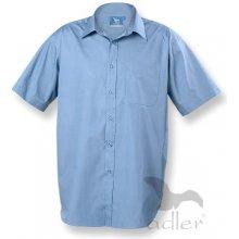 Košile pánské Shirt short sleeve - 207 - nebesky modrá