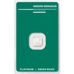 Argor Heraeus Platinový slitek1 g
