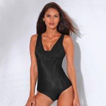 Blancheporte Jednodílné tvarující plavky, bez kostic černá
