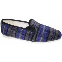 Pánské domácí papuče Bokap 072 modro-šedé