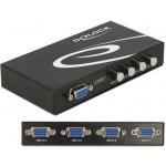 Delock 87635 VGA Switch 4-portový, manuální, obousměrný
