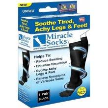 Kompresní zdravotní ponožky - Miracle Socks - 2 páry