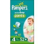 Pampers Active pants boy 4 maxi 52ks