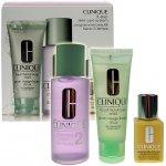 Clinique 3step Skin Care System2 Woman 50 ml Liquid Facial Soap Mild 100 ml Clarifying Lotion 2 30 ml DDML dárková sada