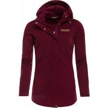 Alpine Pro Camisa dámský softshellový kabát rododendron