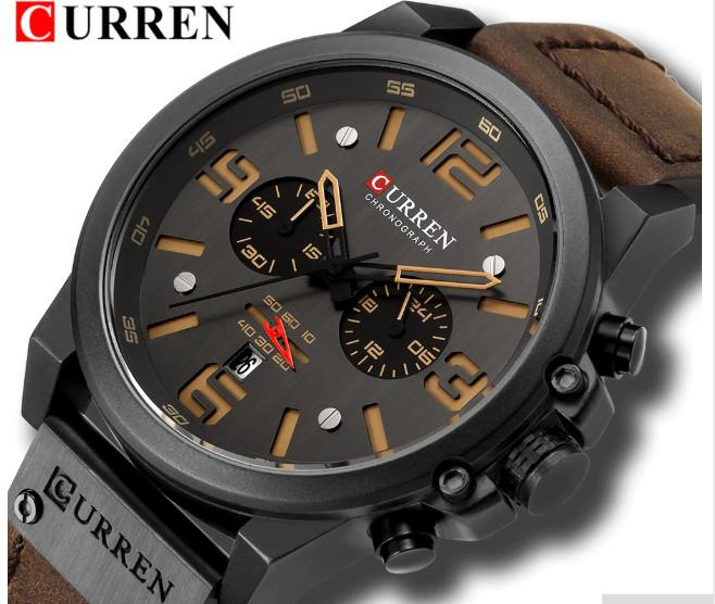 Curren CR8314 Black Brown od 979 Kč - Heureka.cz 9e6601d829