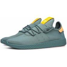 Adidas Originals x Pharrell Williams Tennis Hu Green e630930227b