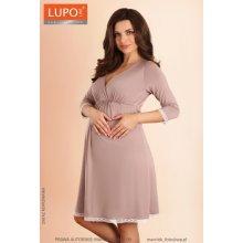 Lupoline dámská těhotenská košilka 1578 capuccino