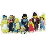 Legler panenky k domečku Farmářská rodina