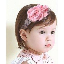 Čelenka pro miminka Rose růžová C70118