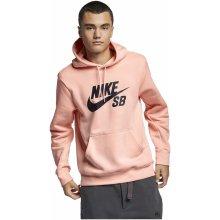 Nike SB ICON HOODIE PO ESSNL růžová AJ9733-646 7a5907992dc