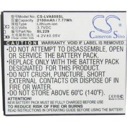 Baterie Cameron Sino CS-LVA808SL 2100mAh - neoriginální