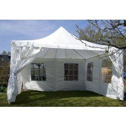 Zahradní domek Zahradní stan bílý, 4 x 4 m