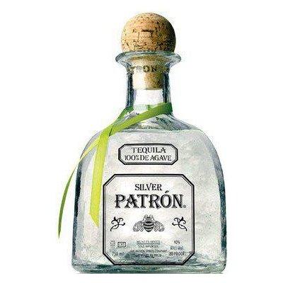 Tequila Patrón Silver 1 l (holá láhev)