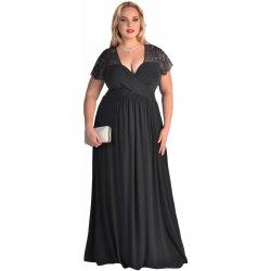 Plesové šaty Dámské šaty pro plnoštíhlé černá 351c3c0b3e