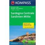 mapový set Sardinie Mitte 1:50 t. 4 mapy