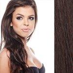 Clip in vlasy 45 cm lidské – Remy 70 g - odstín 2 - černohnědá 4b1341dfd9