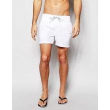 Tommy Hilfiger pánské bílé plavky Flag