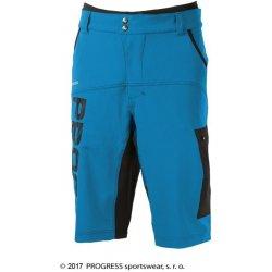 2ed103dcca9 Cyklistické kalhoty PROGRESS PHOENIX pánské volné modrá černá
