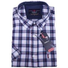 Tonelli Modrá pánská košile 100 % bavlna 110812 c766323a13