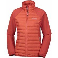 Columbia Flash Forward Hybrid jacket 698 Sail red oranžová