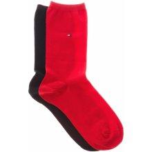 Tommy Hilfiger 2-pack ponožky Modrá Červená dámské