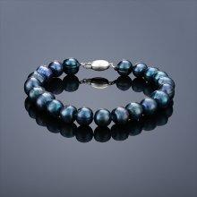 Náramek BUKA Perlový Mutiara černá 626-A