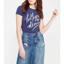 Tommy Hilfiger dámské tričko Basic tmavě modré 9dda006357