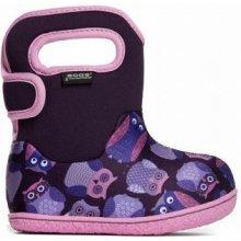 0d32fc094be Bogsfootwear Dětské boty Baby Bogs Classic Owls - Purple Multi