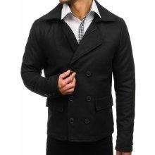 Pánské bundy a kabáty Černý+pánský+kabát c218330d1c1