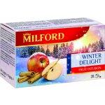 Milford Aromatizovaný ovocný čaj s příchutí jablka a skořice 20 x 2,5 g