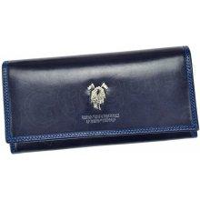Harvey Miller 3820 PL11 dámská kožená peněženka modrá