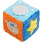 """Rotho Soft Toys """"Play cube with rattle"""" Měkká hrací kostka s chrastítkem"""