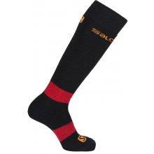 Salomon ponožky All round 2pack black/matador-x