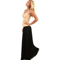 53792ac138cc TopMode dámská romantická letní maxi sukně 59SE81 černá alternativy ...
