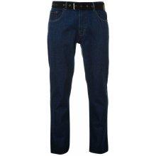Cardin Web Belt pánské jeans Solid mid