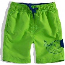 Chlapecké koupací šortky Knot So Bad FISH zelené 22fd6a8571